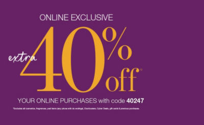 Shop 40off Online Event
