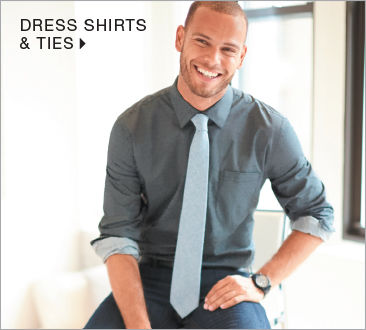 shop mens dress shirts & ties