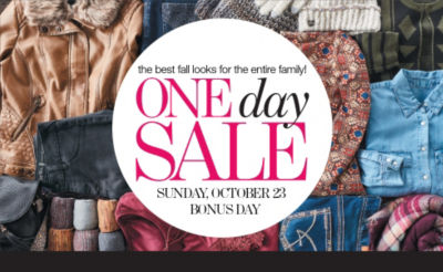 Shop One Day Sale