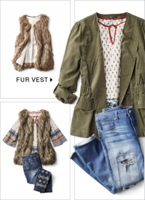 Shop Fur Vest