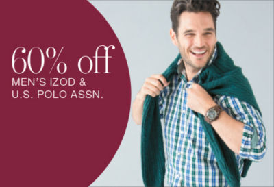 Shop Izod & U.S. Polo Assn.
