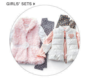 shop girls sets