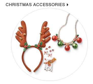 shop christmas accessories
