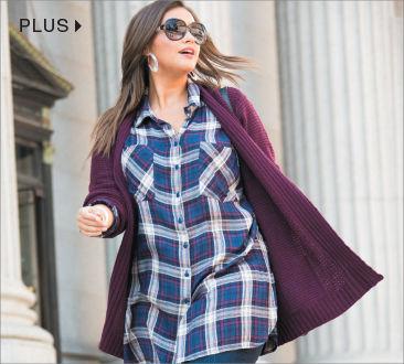 Shop Plus-Size Women Apparel