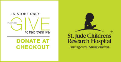 donate to st. jude in store