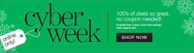 Shop Cyber Week Deals