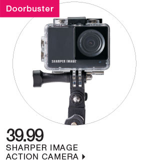 shop 39.99 sharper image action camera
