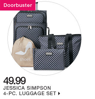 shop 49.99 jessica simpson luggage set