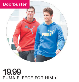 shop 19.99 puma fleece for him