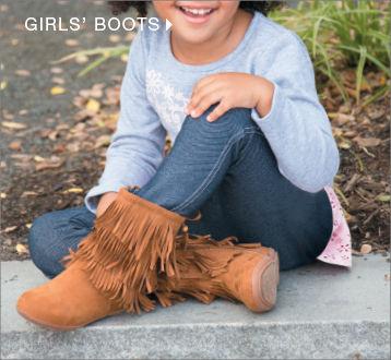 shop girls boots