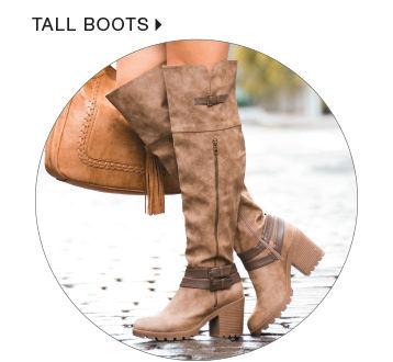 shop womens tall boots