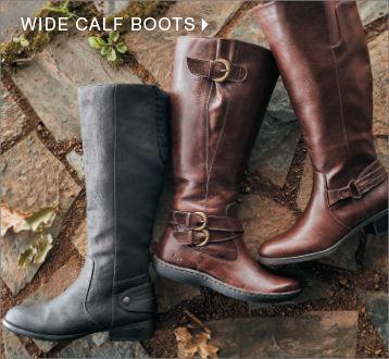 shop womens wide calf boots