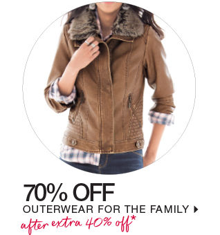 shop coats & jackets for the family