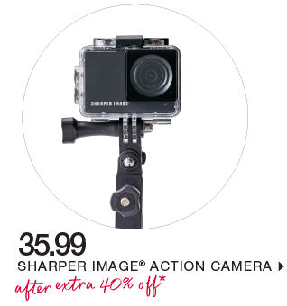 shop sharper image action camera