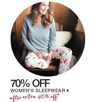 shop womens sleepwear