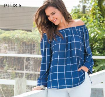 Shop Plus Size Women Apparel