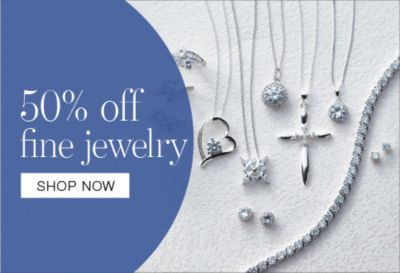 shop buy one get one 50% off fine jewelry