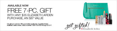 Shop now Elizabeth Arden gift with purchase