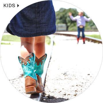 shop kids' justin boots