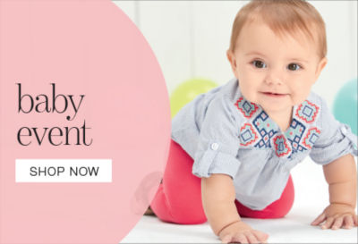 shop our baby event