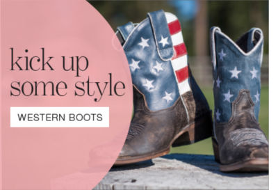 shop western & cowboy boots