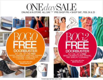 Shop BOGO Doorbusters