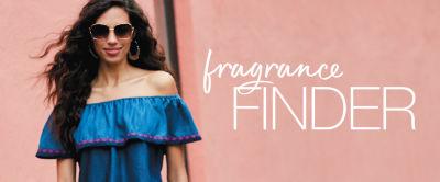 Find your scent, shop our fragrance finder