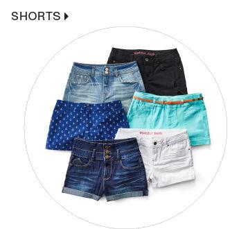 shop junior shorts