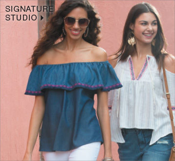 Shop Signature Studio to women