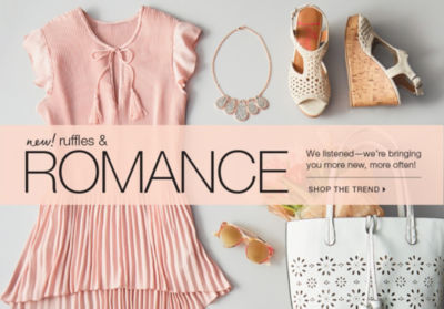 Shop the Ruffles & Romance Trend