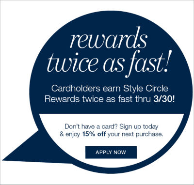 earn double rewards through 3/31