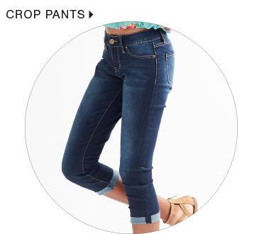 Shop Junior Cropped Pants