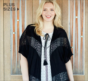 Shop plus size styles for women