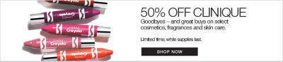 Clinique Special Promotion - 50% OFF Select Product