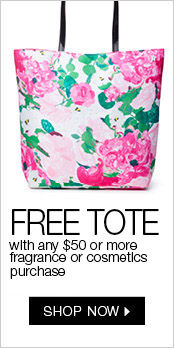 Free Gift with $50 Fragrance or Cosmetics Purchase