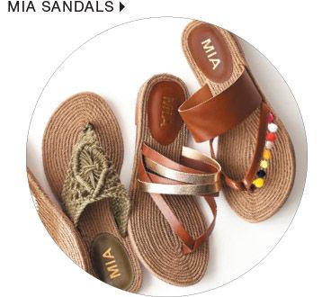shop women's mia sandals