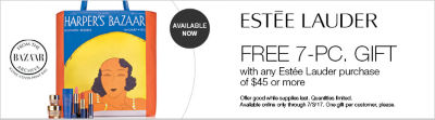 Free Gift with $45 Estee Lauder Purchase