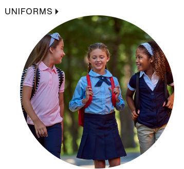 shop kids uniforms