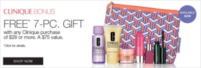 Shop Clinique Bonus