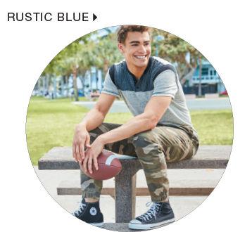 Shop Men's Rustic Blue