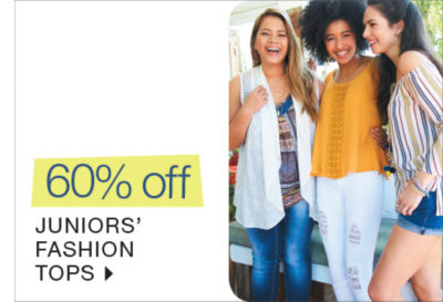 Shop 60% off Juniors Fashion