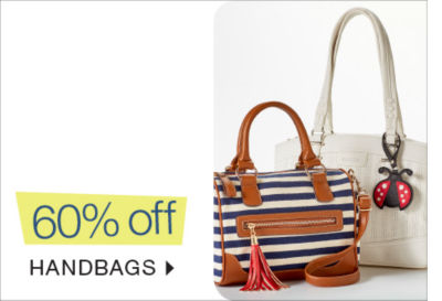 Shop 60% off Handbags