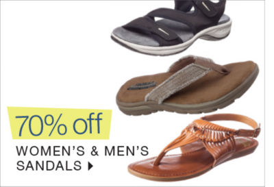 Shop 70% off Sandals for the Family