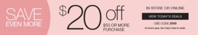 Shop 20off Coupon