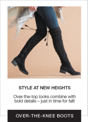 Shop Over the Knee Boots