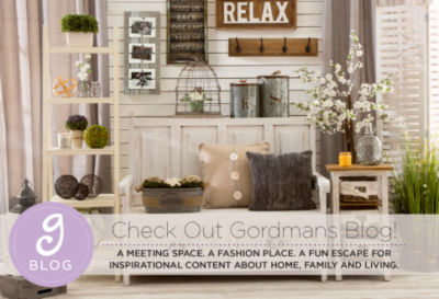 Check out Gordmans Blog!