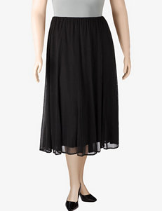 Connected Apparel Chiffon Skirt – Plus-sizes