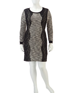Trixxi Black Everyday & Casual Sweater Dresses