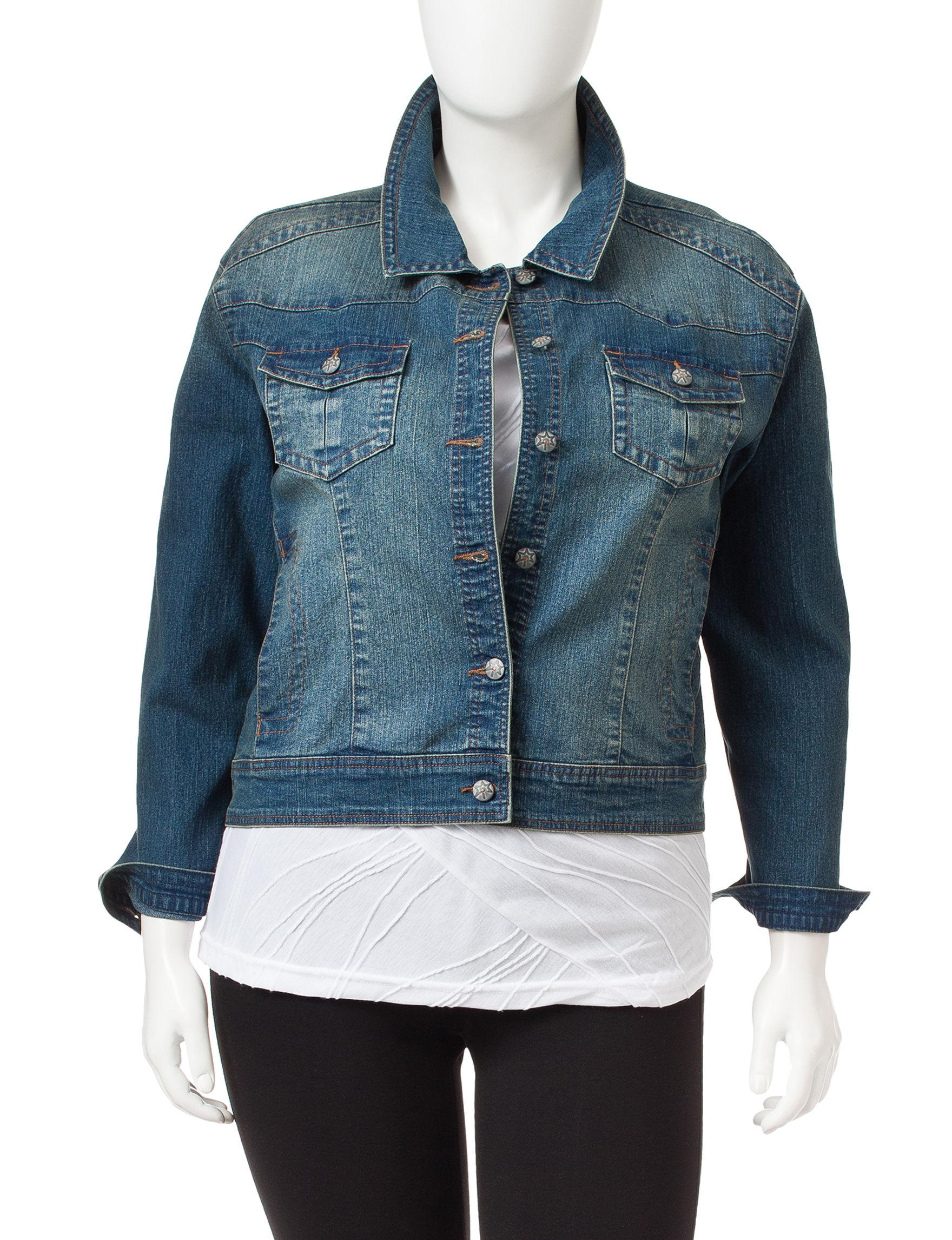 Lennie Blue Denim Denim Jackets