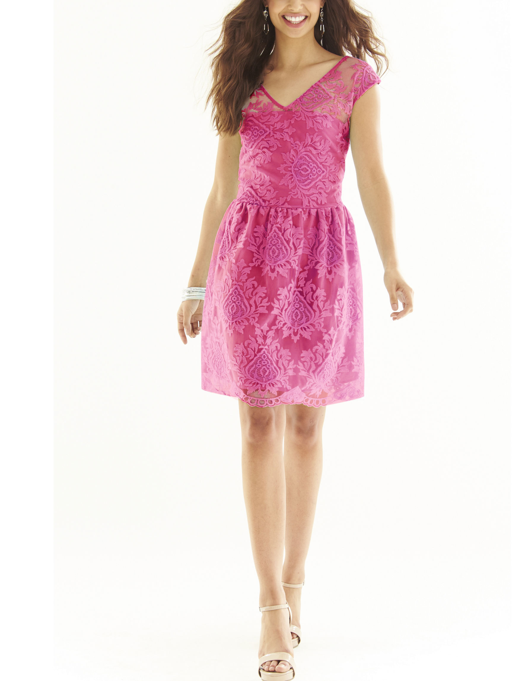 Allen B Pink Everyday & Casual